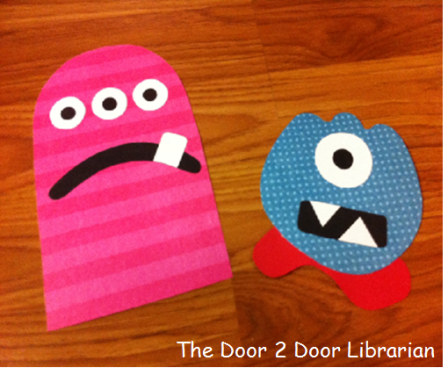 Monster Storytime Craft