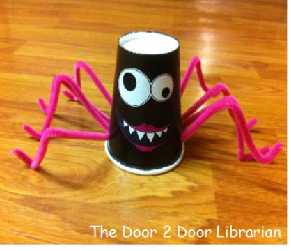 Spider Storytime Craft