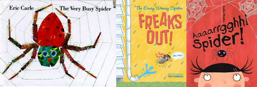 Photo of spider books.