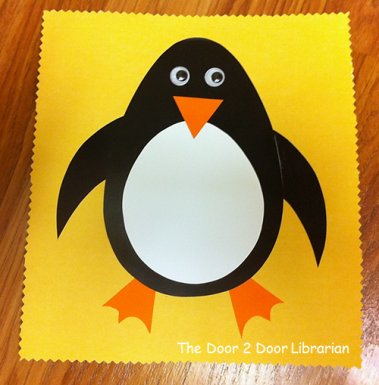 Penguin Storytime Craft