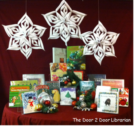 Winter Holiday Book Display