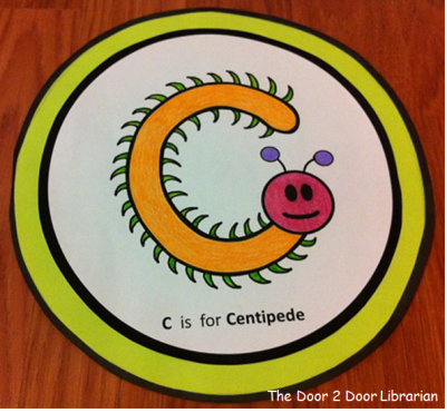 Letter C Storytime Craft