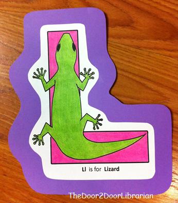 Letter L Lizard