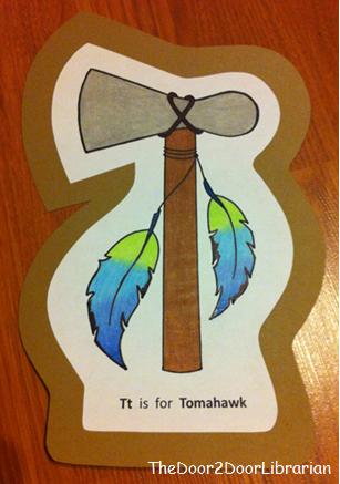 Letter T Tomahawk