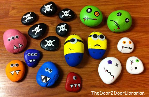 Ya Crafts Pet Rocks The Door 2 Door Librarian