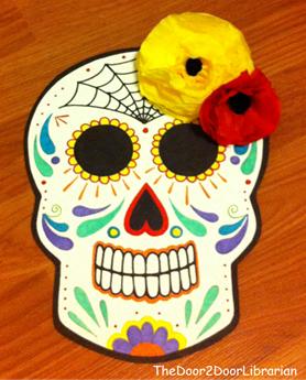 Dia de Los Muertos Skull Craft