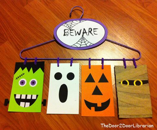 Halloween Door Hanger Craft