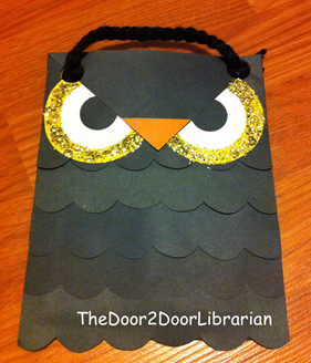 Owl Treat Bag Craft