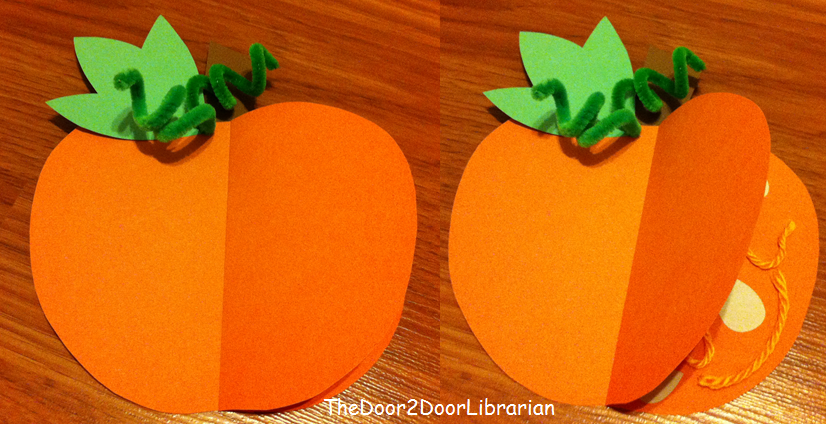 Peekaboo Pumpkin Craft