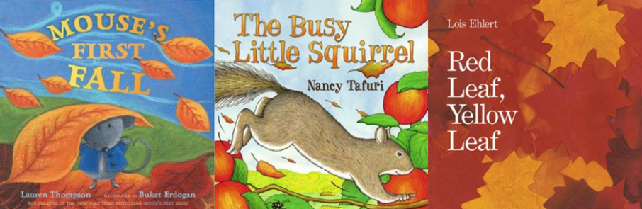 Autumn Storytime Books