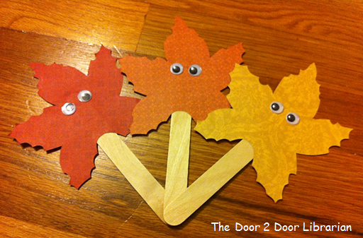 Autumn Storytime Craft