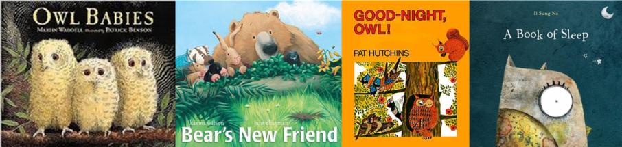 Owl Storytime Books