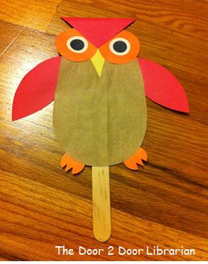 Owl Storytime Craft