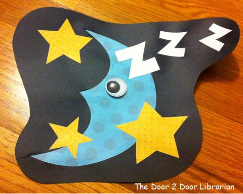 Sleep Storytime Craft