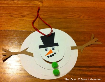 Snowman Storytime Craft