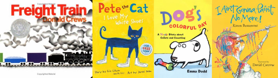 Colors Storytime Books