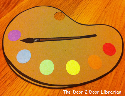 Colors Storytime Craft