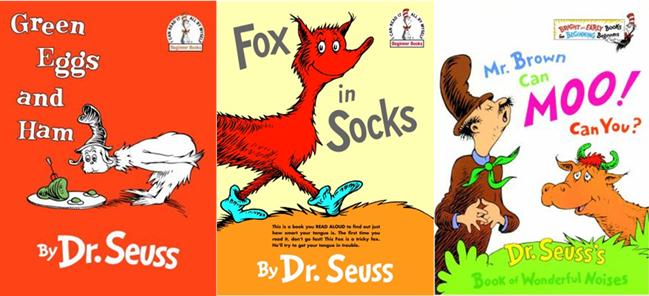 Dr Seuss Storytime Books