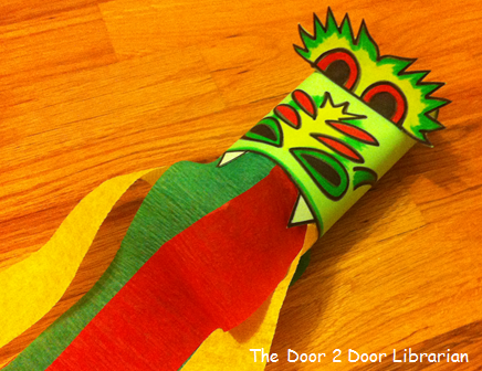 Dragon Storytime Craft