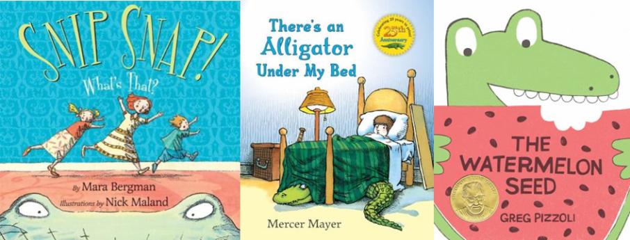 Alligators and Crocodiles Storytime Books