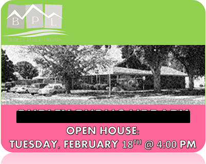 BPL Open House Graphic