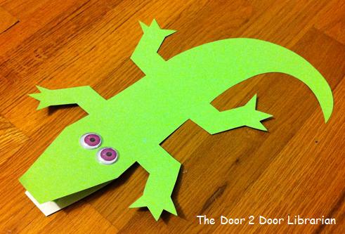 Crocodile & Alligator Storytime Craft