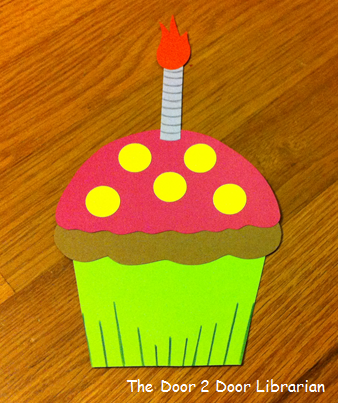 Dr. Seuss Birthday Cupcake