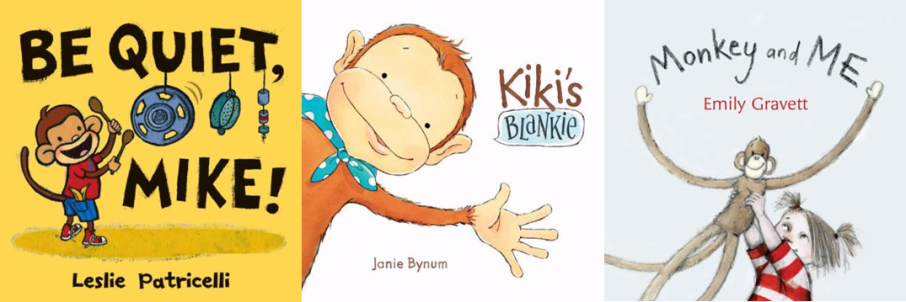 Monkey Storytime Books