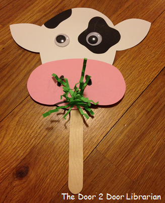 Farm Animal Storytime Craft