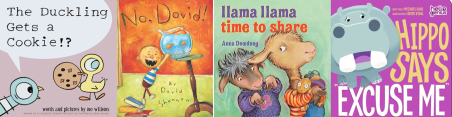 Manners Storytime Books