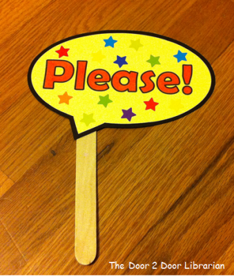 Manners Storytime Craft