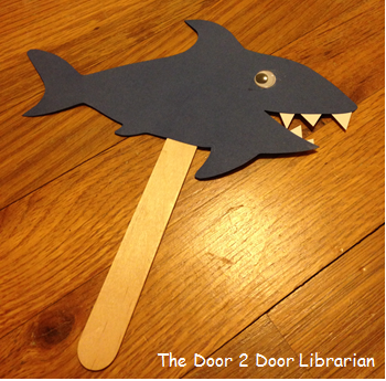 Shark Storytime Craft