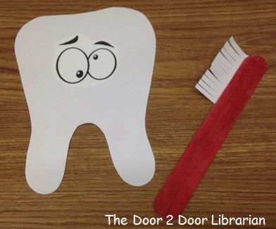Teeth Storytime Craft