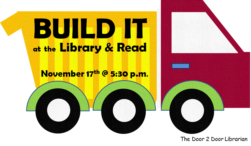 Facebook Build it at the Library & Read Graphic