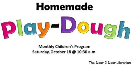 Facebook Homemade Play-Dough Graphic