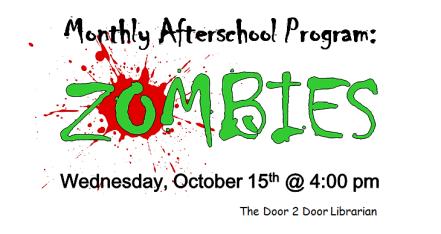 Facebook Monthly Afterschool Program_Zombies Logo