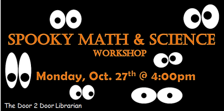 Facebook Spooky Fun with Math & Science Graphic