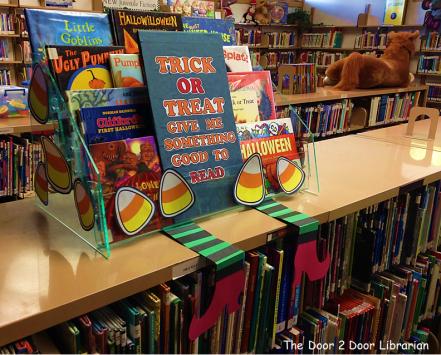 Library Book Diplay_Halloween